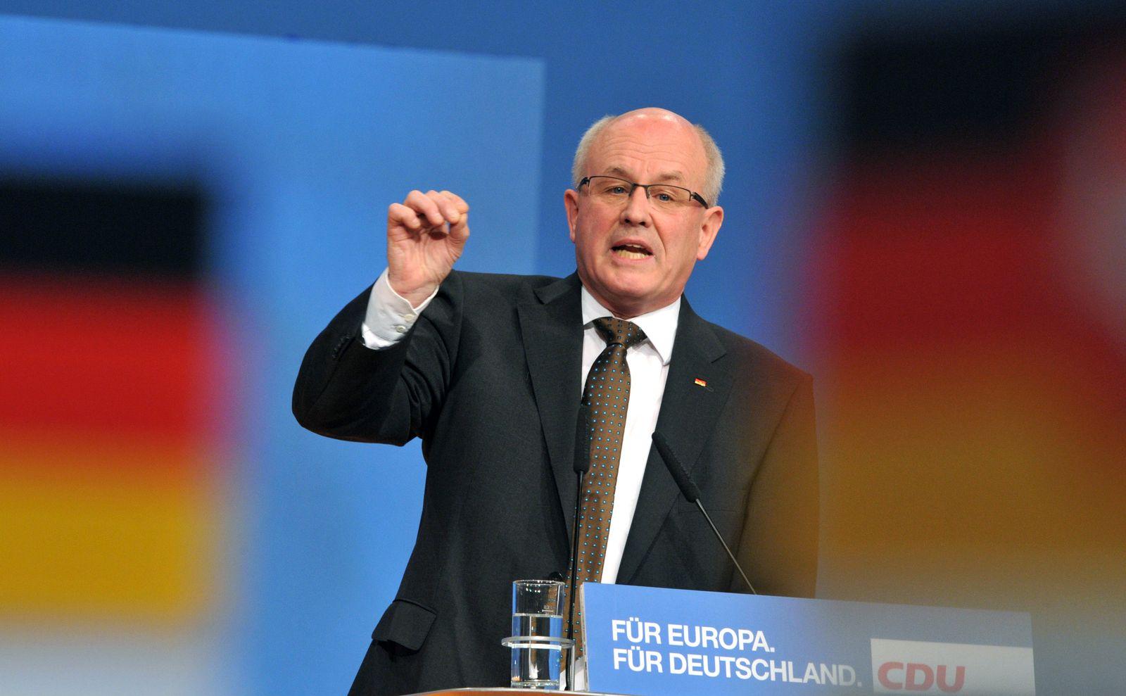 Kauder/ Bundesparteitag