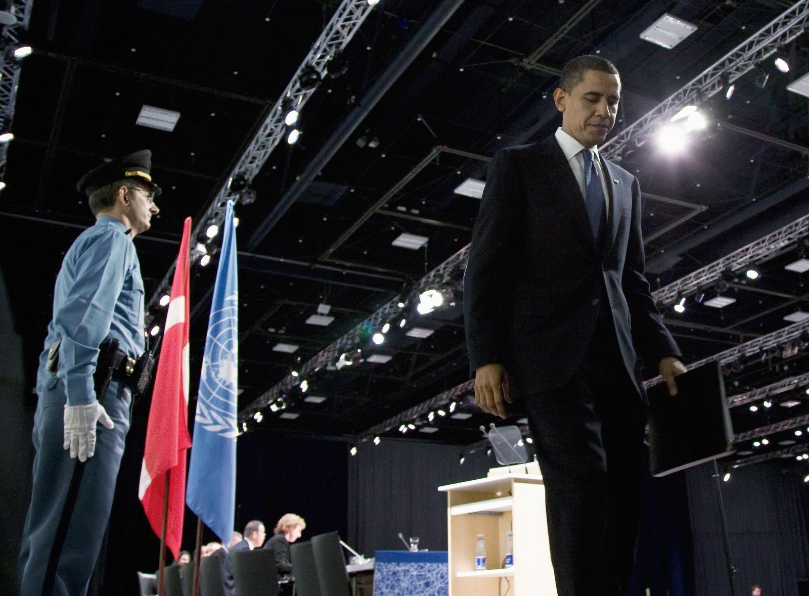 Klimagipfel / Kopenhagen / Barack Obama