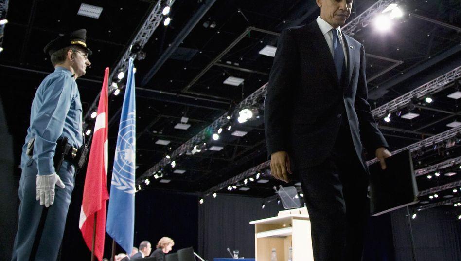 Obama nach seiner Rückkehr in die USA: Keine Häme für das Scheitern in Kopenhagen