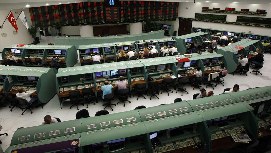Börse in Istanbul (Archivbild): Bröckelnde Fassade der Wirtschaftskompetenz