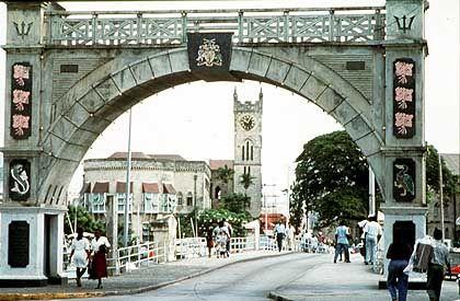 Bis 1966 war die Insel britische Kolonie