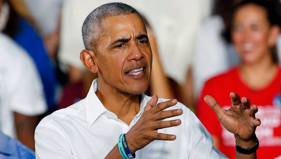 Ex-Präsident Barack Obama (Archivaufnahme)