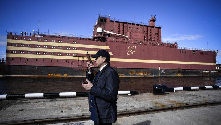 Die Bilder: Russlands schwimmendes AKW