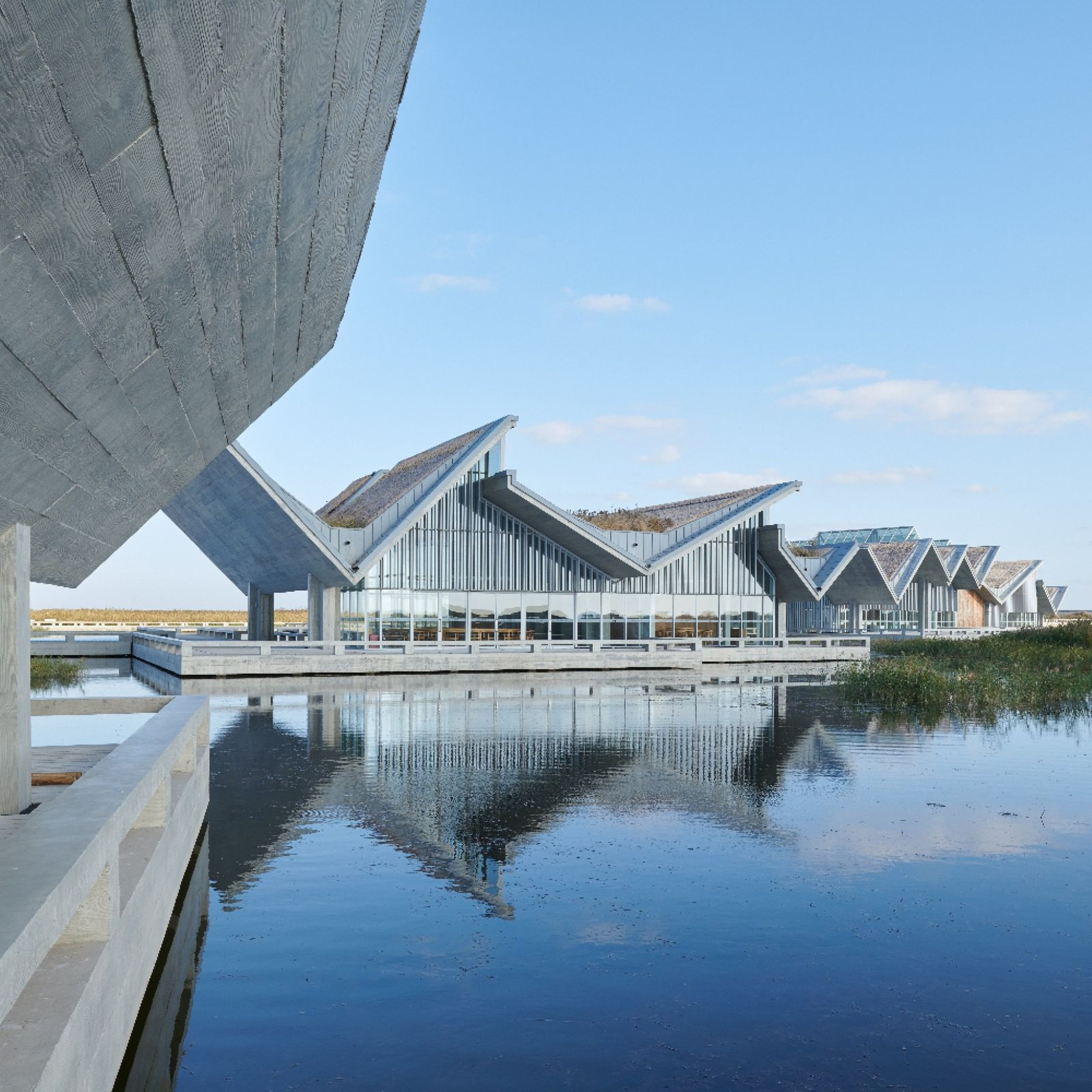 Wetland Research and Education Center by Atelier Z+