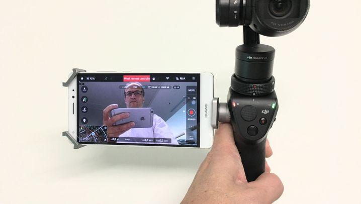 Dji Osmo im Test: Diese Kamera bleibt immer ruhig