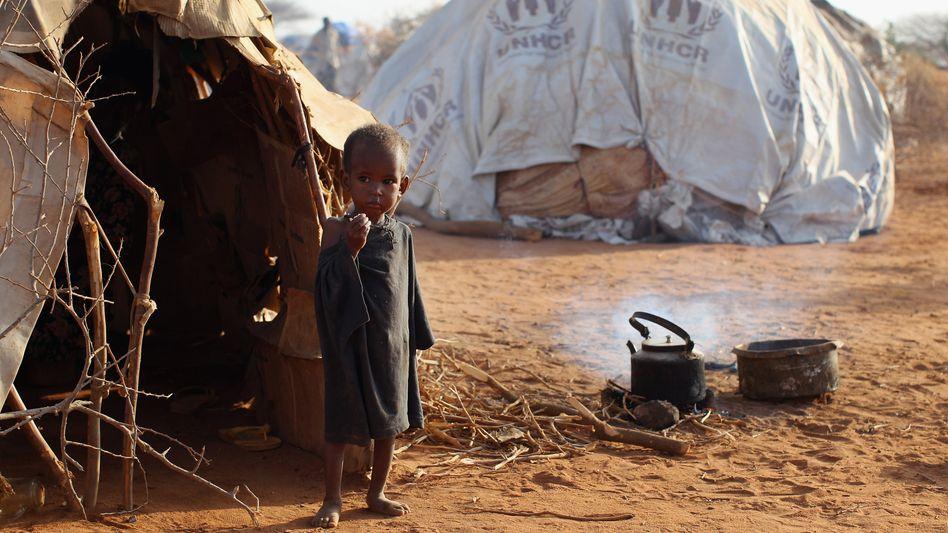 Somalisches Flüchtlingskind: 842 Millionen Menschen weltweit hungern