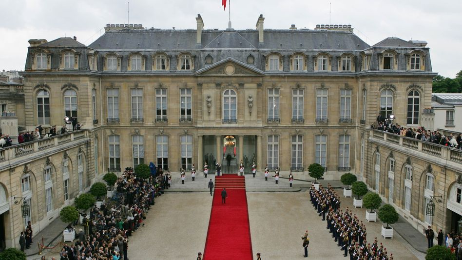 Élysée-Palast in Paris
