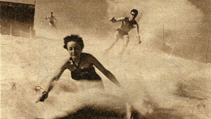 Ungewöhnliche Sportart: Skifreuden im Hochsommer