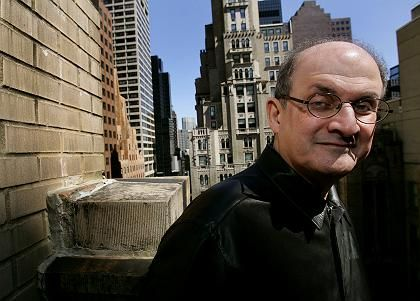 Author Salman Rushdie divides his time between New York, London and Mumbai.