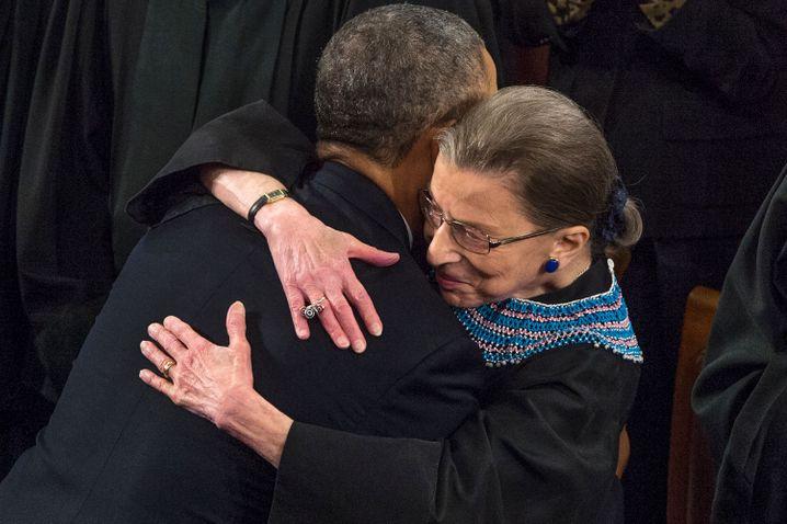 Obama, Ginsburg