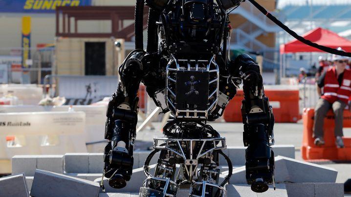 Humanoide Roboter: Turnen, Reiten und Liegestütze