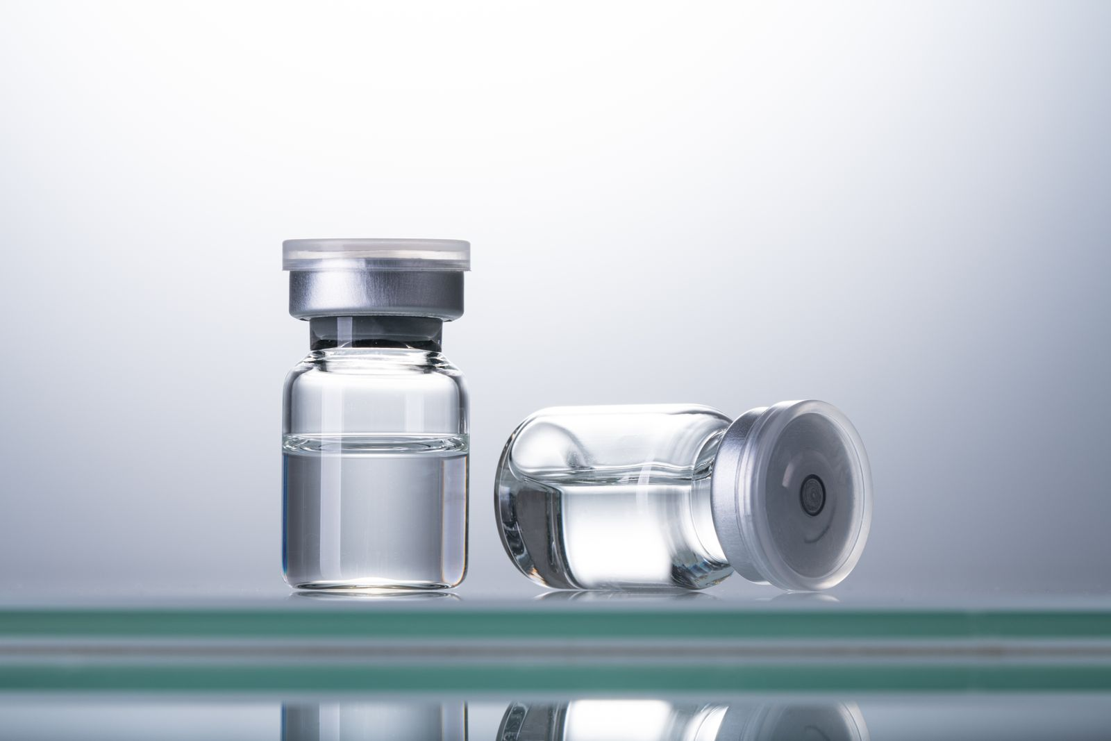 Sealed Airtight Medical Vials