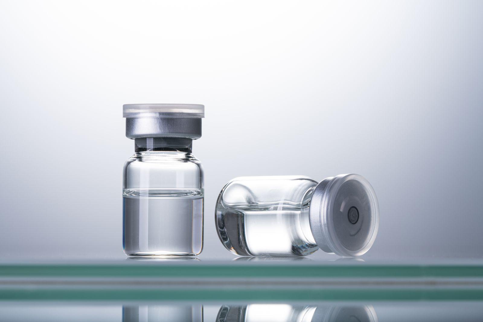 Sealed Airtight Medical Vials