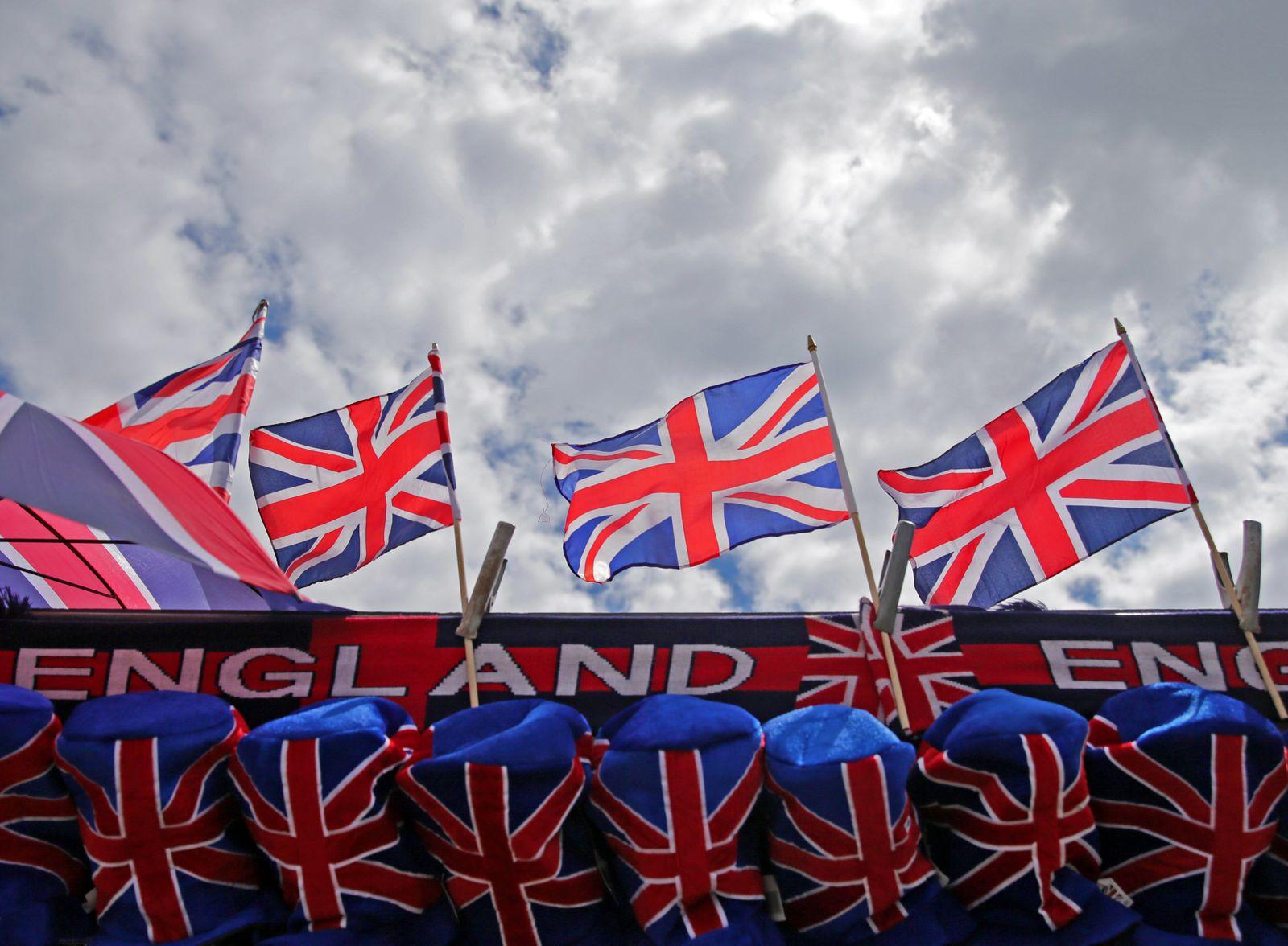 Britische Fähnchen