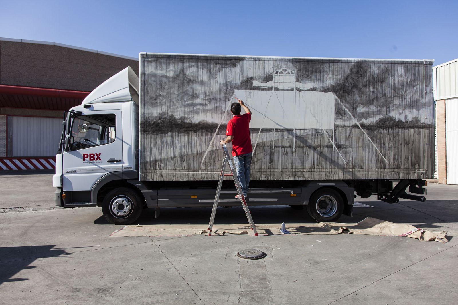 Truck Art/ Daniel Mun¿oz