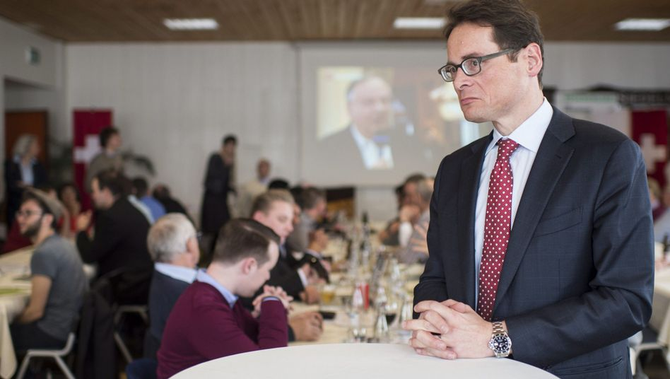 SVP-Politiker und Journalist Roger Köppel: Die SVP wird nicht klein beigeben