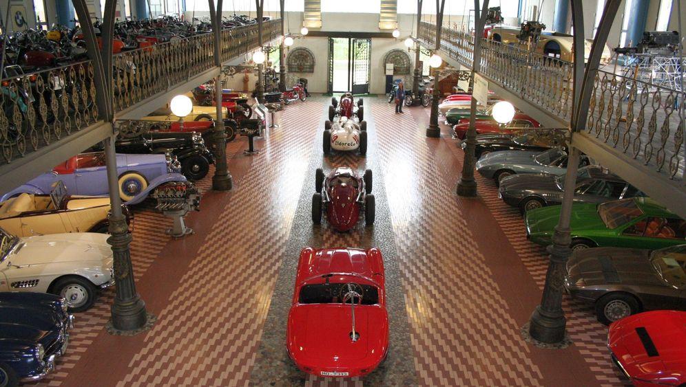 Autosammler Umberto Panini: Die Super-Sammlung