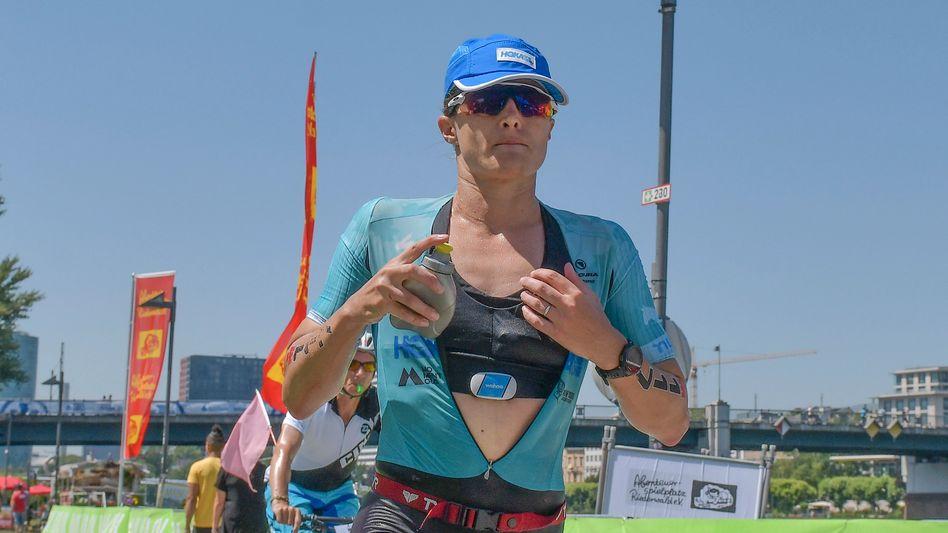 Triathletin True beim Ironman in Frankfurt 2019