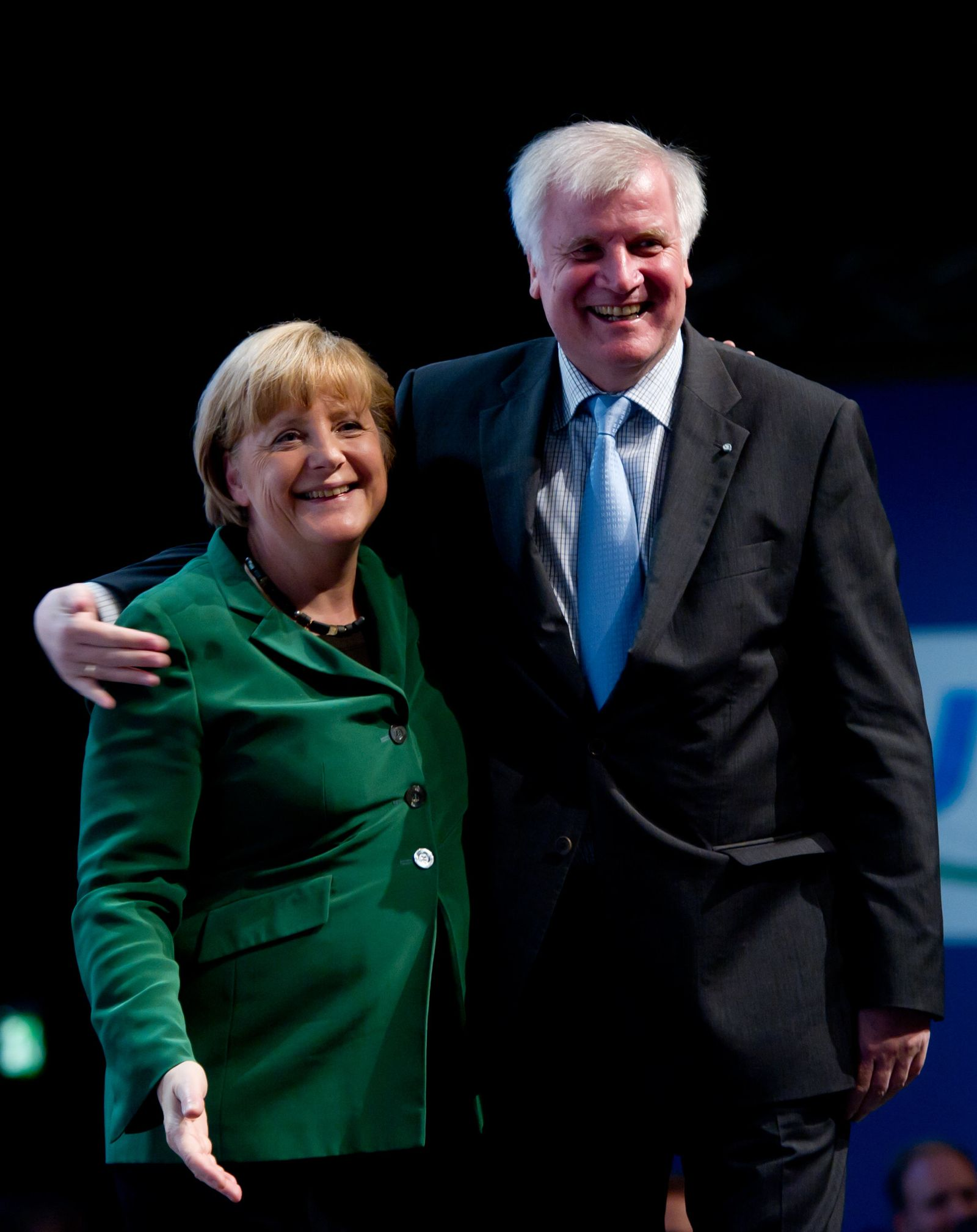 CSU-Parteitag 2012 Seehofer und Merkel