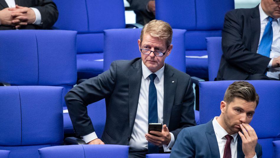 AfD-Politiker Karsten Hilse am Donnerstag im Bundestag