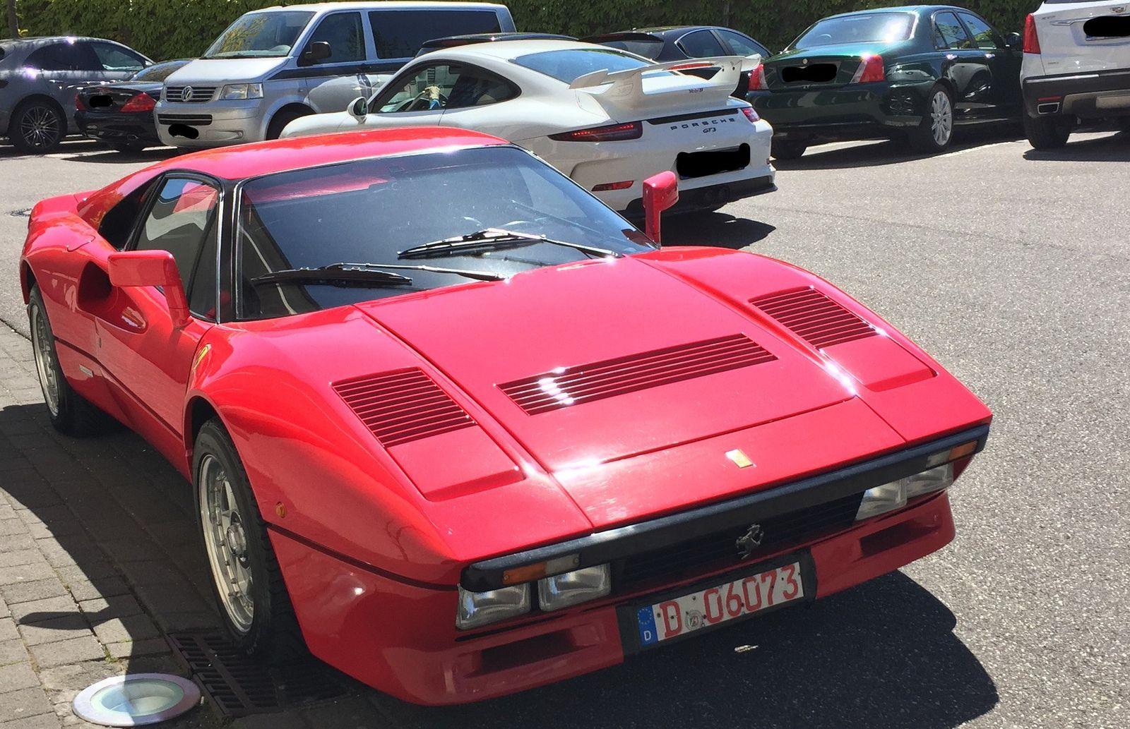 Gestohlener Ferrari