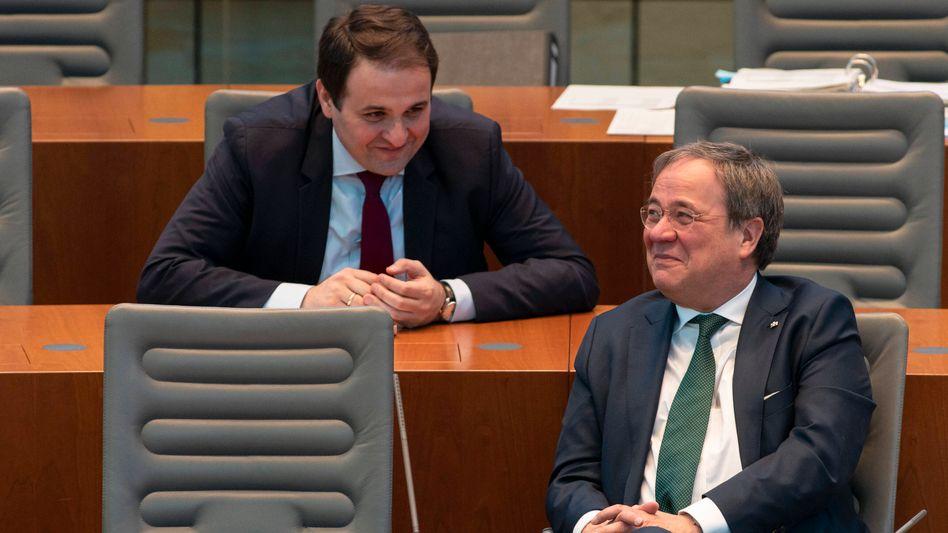 CDU-Politiker Liminski, Laschet: Schattenmann und Spiegelbild zugleich
