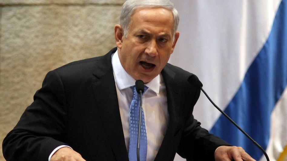 Israels Premier Netanjahu: Siedlungsbau wird vorangetrieben