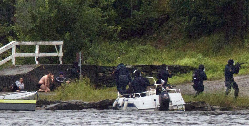 """Polizeikommando auf Utøya (am 22. Juli 2011): """"Inakzeptable Langsamkeit"""""""