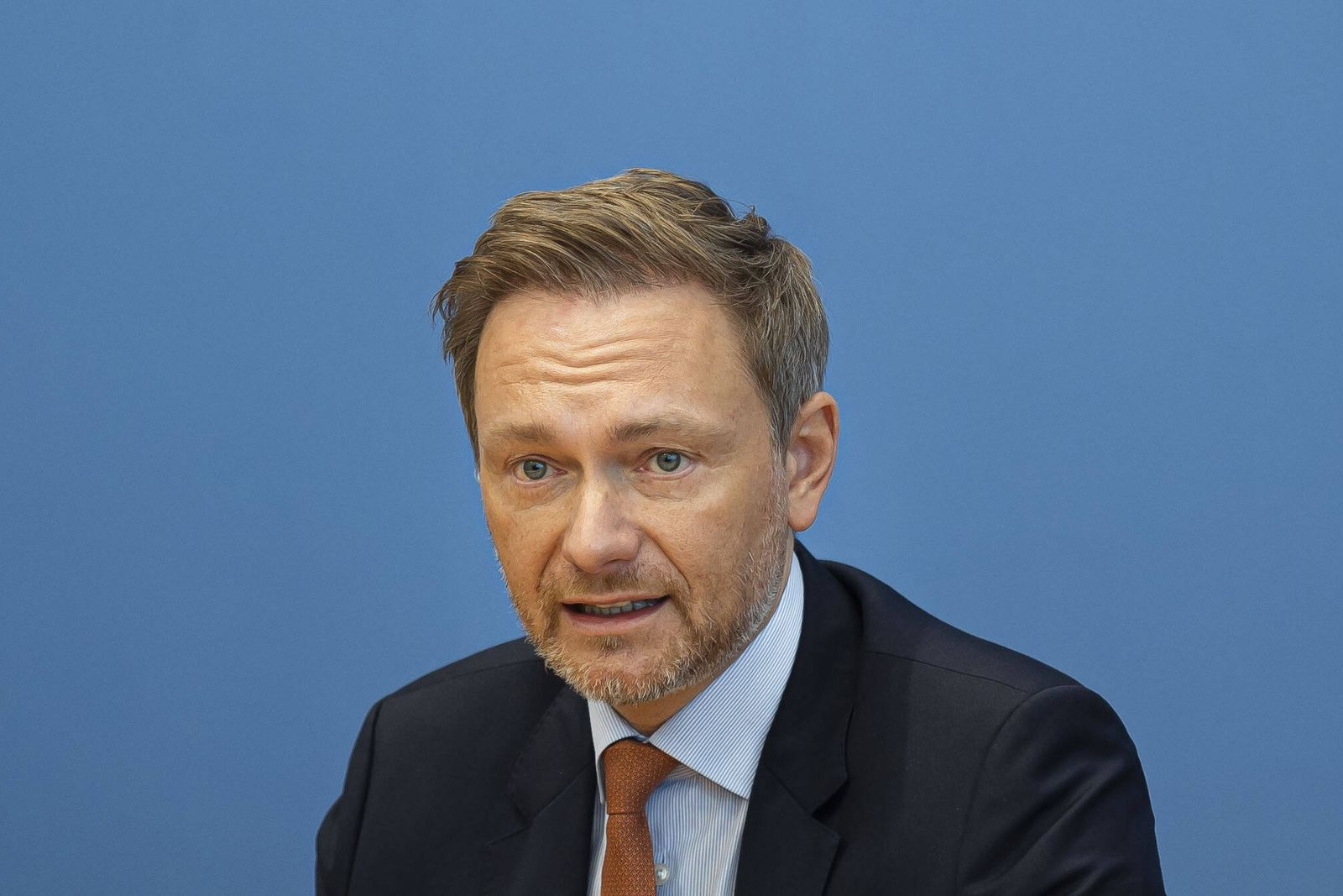 Christian Lindner, FDP Parteivorsitzender, aufgenommen in der Bundespressekonferenz. Berlin, 26.01.2021 Berlin Deutschl