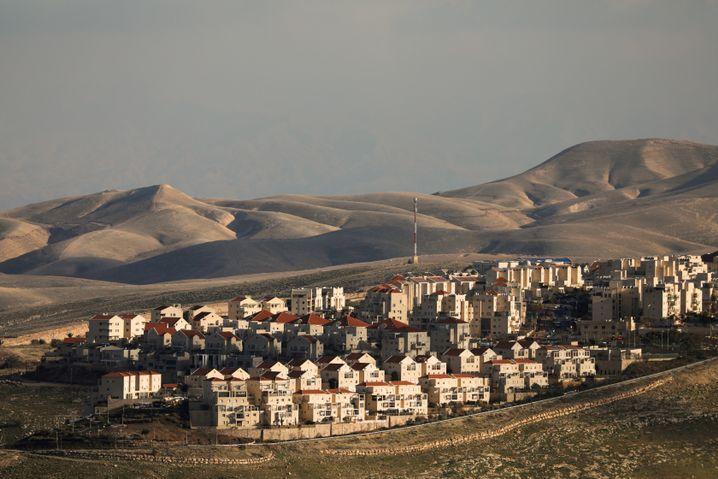 Die israelische Siedlung Maale Adumim unweit von Jerusalem