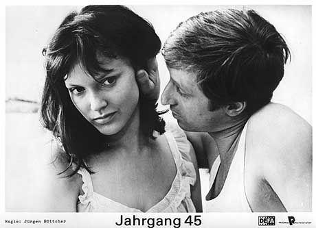 """Verbotene Filme: """"Jahrgang 45"""" mit Rolf Römer und Monika Hildebrand, Regie: Jürgen Böttcher"""