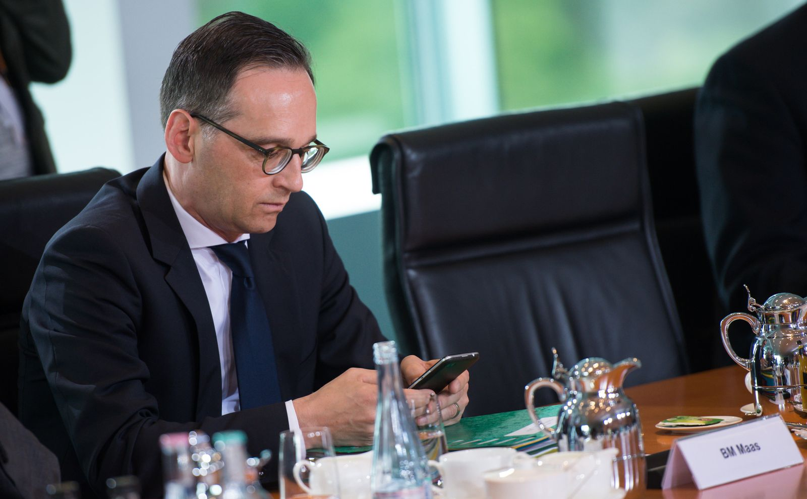 Kabinettssitzung heiko maas vorratsdatenspeicherung