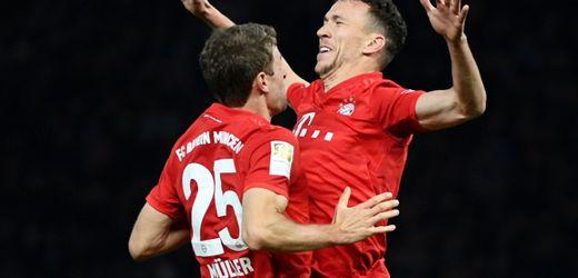 FC Bayern München siegt in Berlin: Gegen Hertha BSC geht es auch ohne Tempo