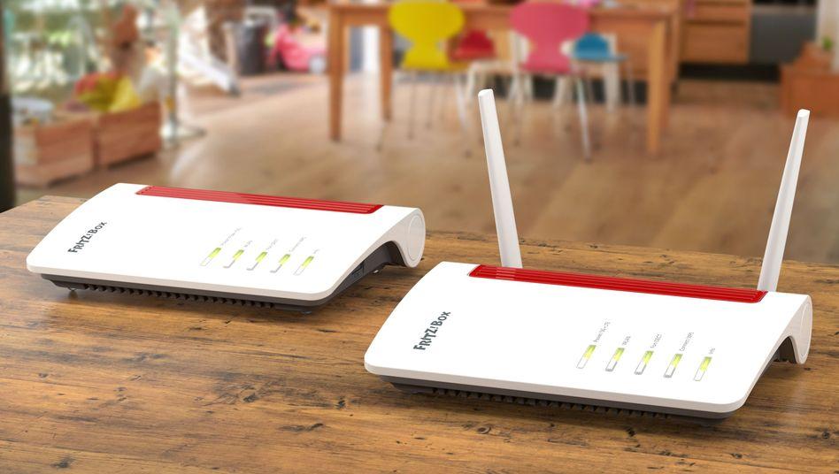 Auf der Ifa sind gerade die ersten Fritzbox-WLAN-Router mit Wi-Fi 6 vorgestellt worden (Symbolbild)