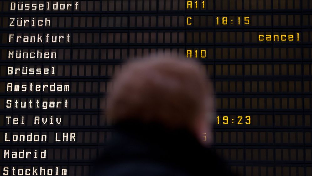 Photo Gallery: Second Day of Strike Hits Frankfurt Airport