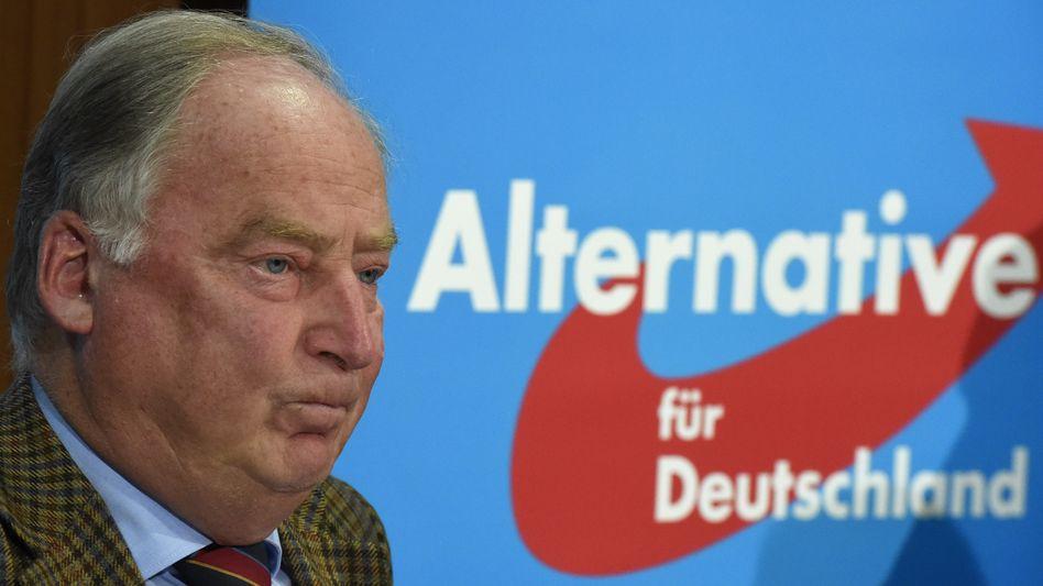 AfD-Vize Alexander Gauland (Archiv): Offener Widerstand gegen Hans Olaf Henkel