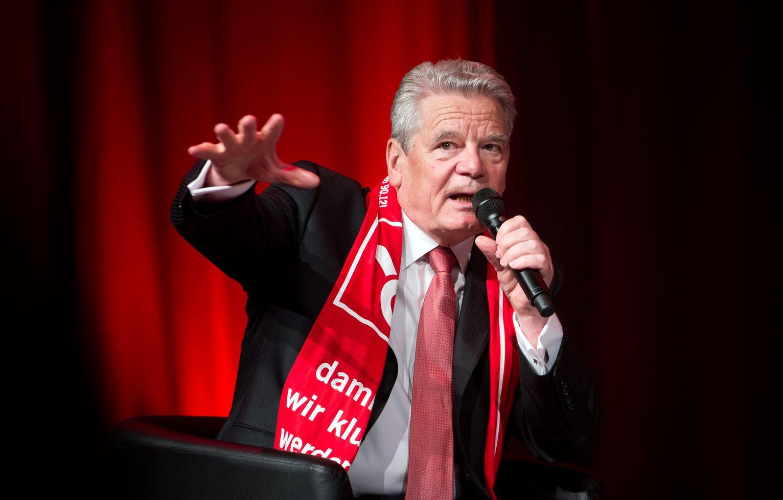 Joachim Gauck/ Evangelischer Kirchentag 2015
