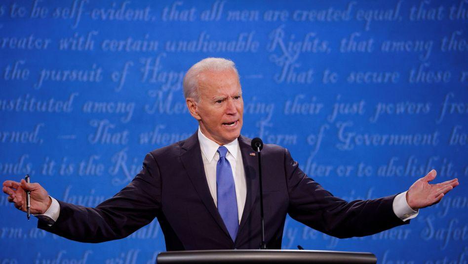 Joe Biden verspricht seinen Wählern freie Corona-Tests