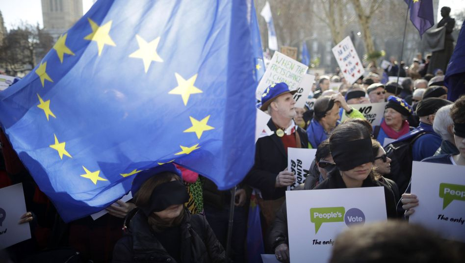 Demonstration für zweites Brexit-Referendum in London