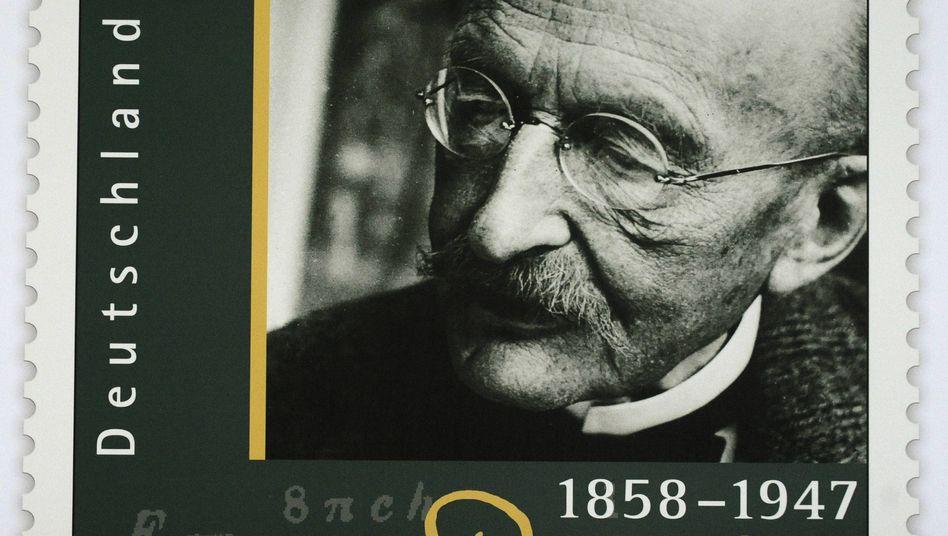 """Sonderbriefmarke zu Ehren von Max Planck: """"Mich bringt das nicht aus der Ruhe"""""""