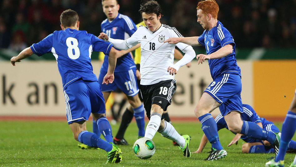 U-21-Nationalspieler Schulz: Knapper Sieg gegen die Färöer