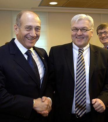 """Olmert und Steinmeier: """"Unaufkündbare"""" Solidarität"""