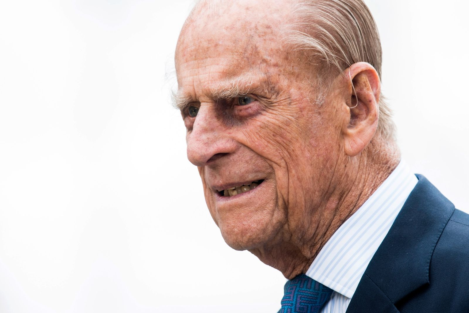 Prince Philip in hospital for one week