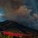 Waldbrände schneiden Campern in der Sierra Nevada Fluchtweg ab