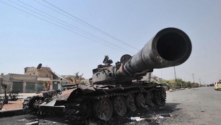 Fotostrecke: Entscheidungsschlacht um Aleppo