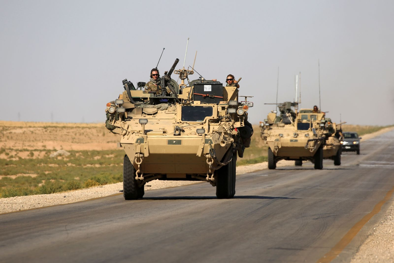 USA Syrien Truppen