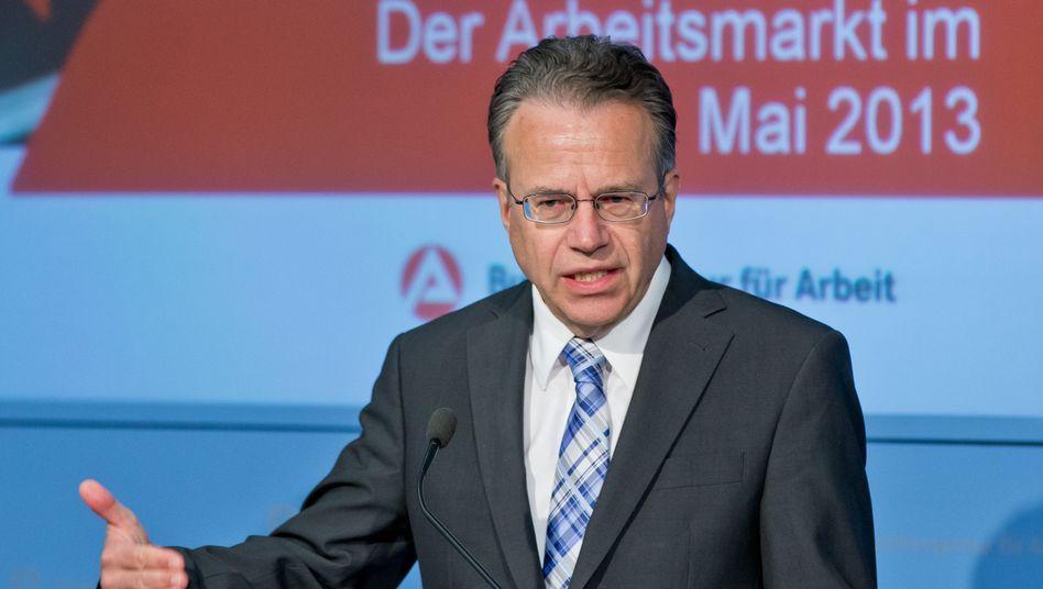 Frank-Jürgen Weise: Vorwärtsverteidigung im Bundestag