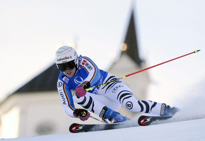 Skiläuferin Rebensburg: Konzentriert auf die schnellen Rennen