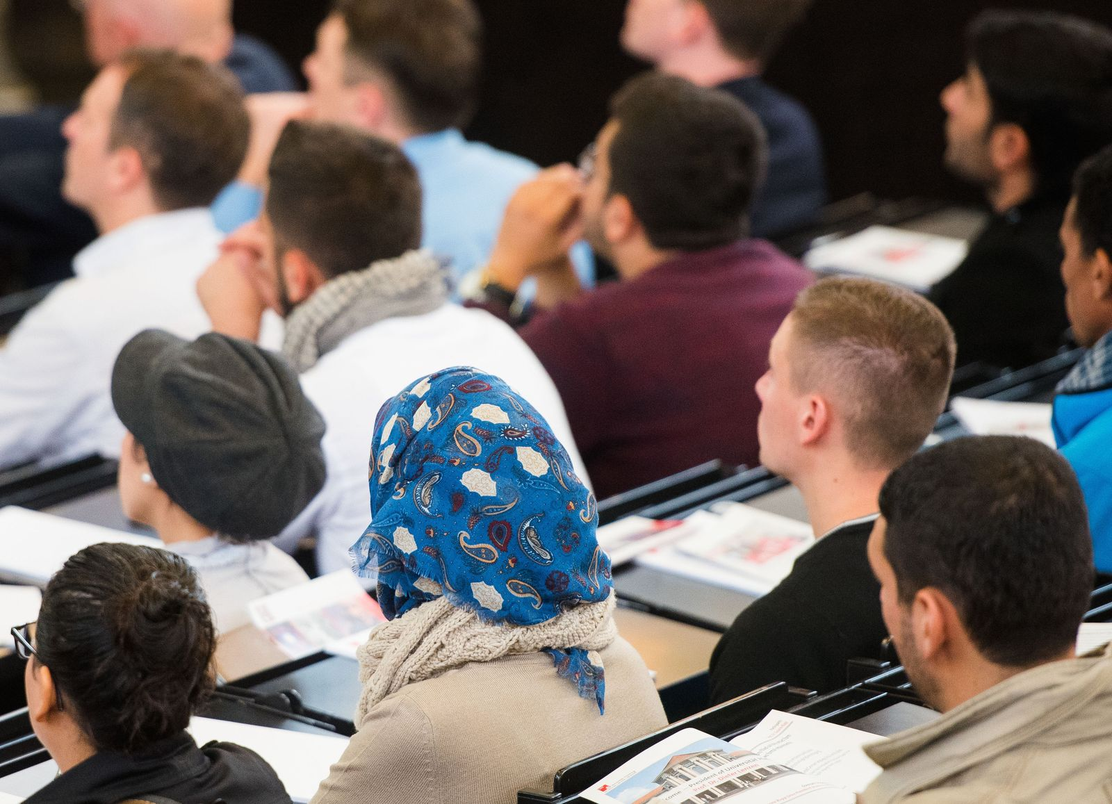 Flüchtlinge als Gasthörer an Universitäten