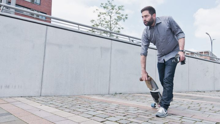 Elektro-Skateboard: Mit dem Strom